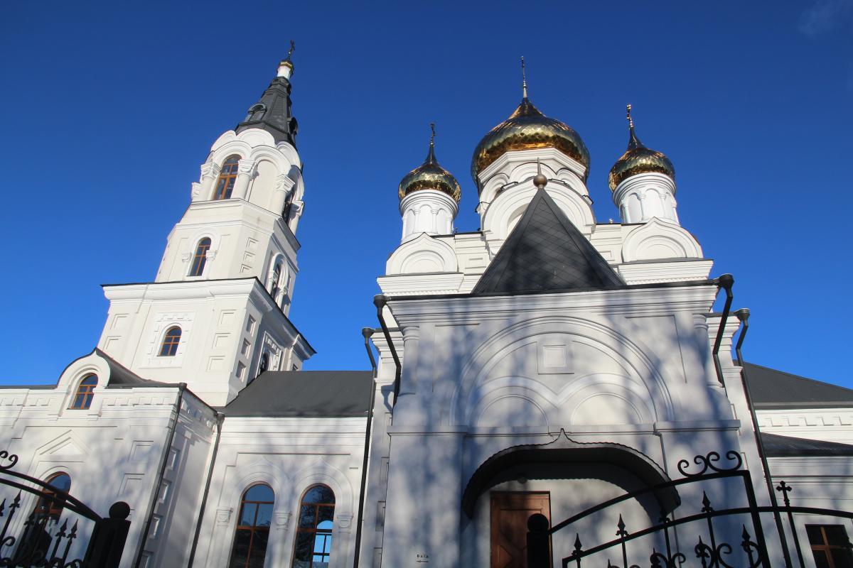 Житомирский Свято-Крестовоздвиженский кафедральный собор / zhytomyr-eparchy.org