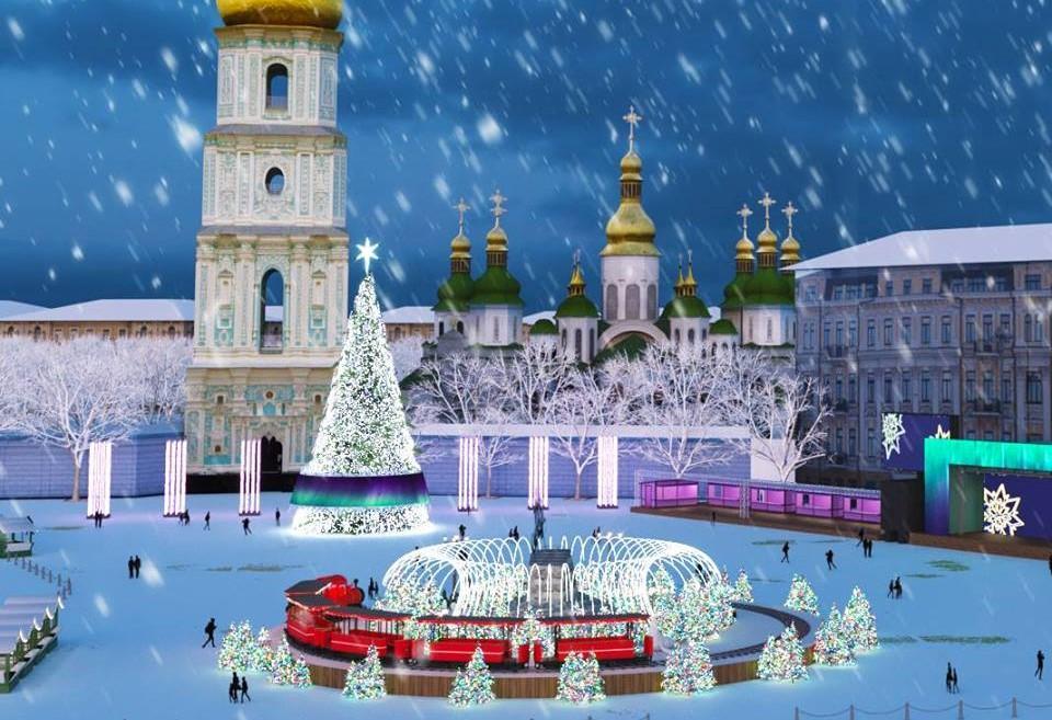 Головну новорічну ялинку країни почнуть встановлювати 8 грудня / фото Ukraine Folk