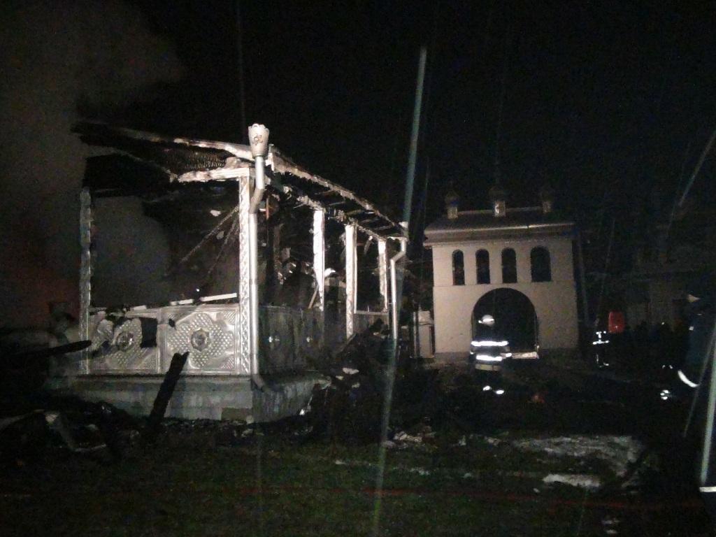Площа пожежі складала 375 м. кв. / прес-служба ДСНС