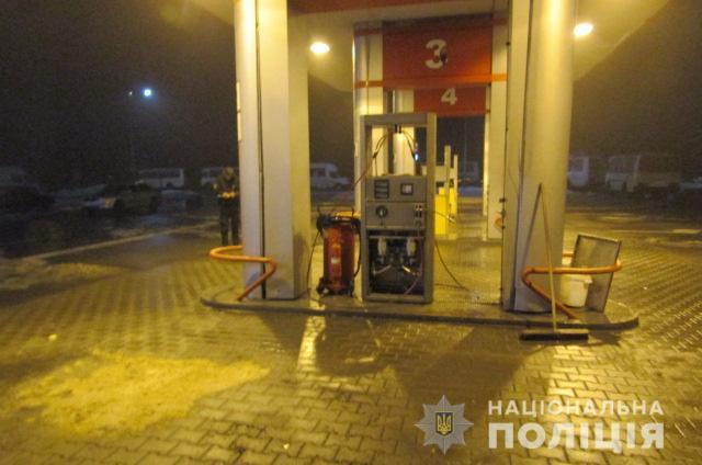 У Київській області на АЗС стався вибух газу / фото kv.npu.gov.ua