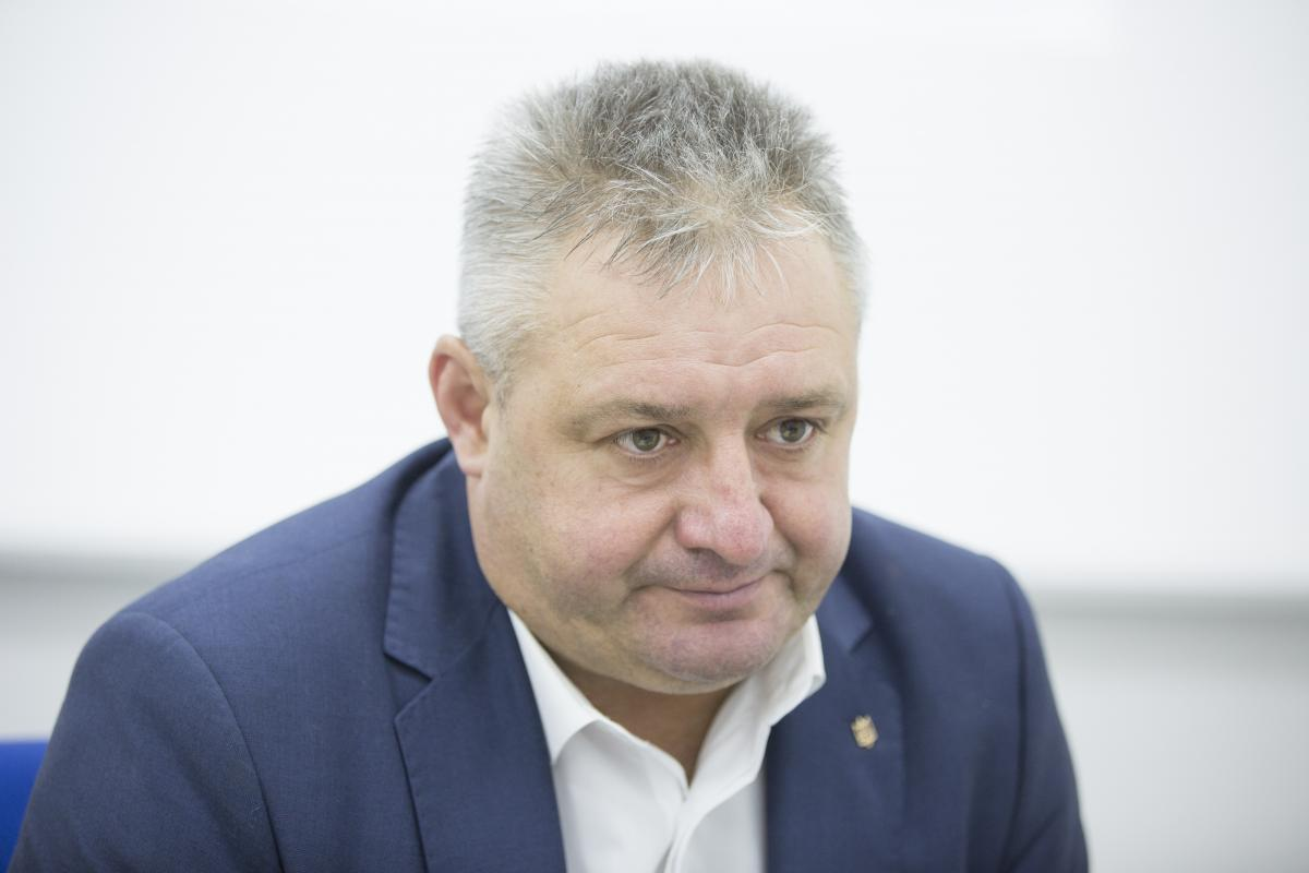 Віктор Сорока – батько одного з полонених Росією моряків ВМС України, Василя Сороки \ УНІАН