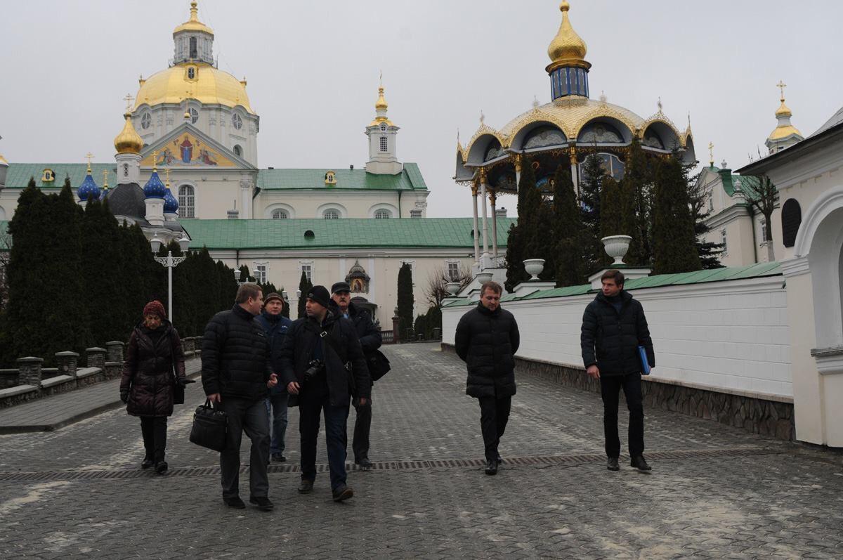 В Почаевской лавре провели ревизии / news.church.ua