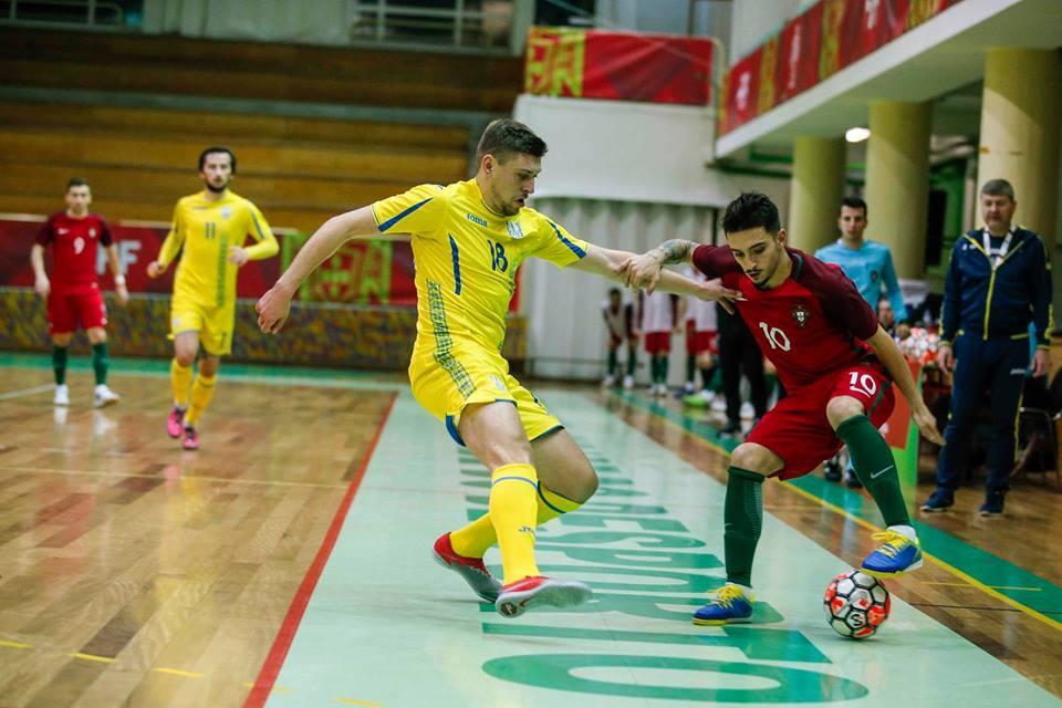 Сборная Украины дважды сыграла вничью с командой Португалии / facebook.com/UKRAINEFUTSAL