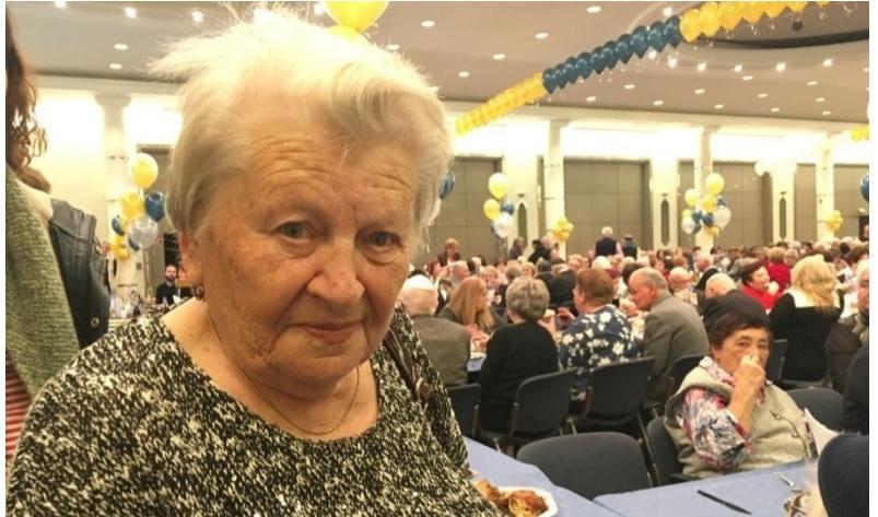 Ассіа Горбалі, яка втекла з концтабору в Україні разом з матір'ю / jta.org