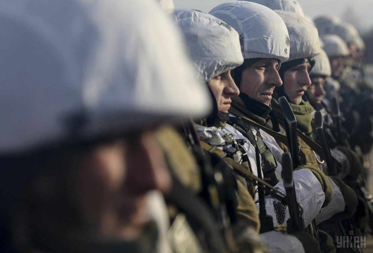 Ситуація в районі проведення ООС залишається під контролем українських військових / фото УНІАН