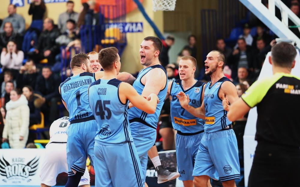 Кирило Фесенко приніс перемогу своєму клубові в матчі української баскетбольної Суперліги / fbu.ua
