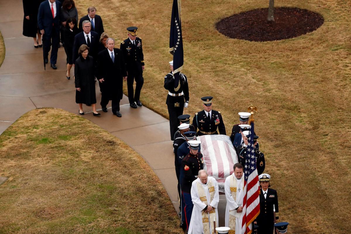 Похороны Джорджа Буша-старшего / REUTERS