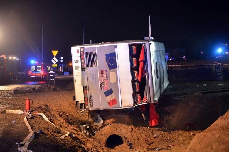 Автобус с 51 пассажиром занесло на дороге / фото Gazeta Wroclawska