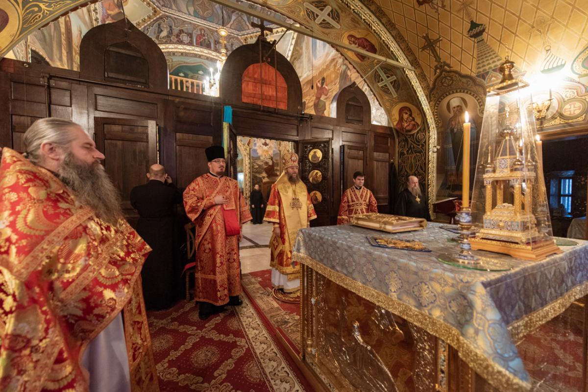 Архиереи молились в Киево-Печерской лавре перед началом работы Священного Синода УПЦ / news.church.ua
