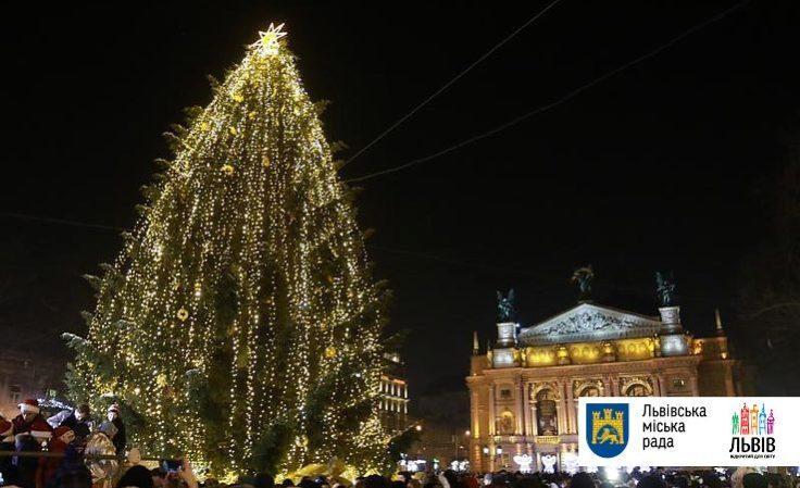 Открытие главной елки Львова состоится 18 декабря \ Львовская містькрада