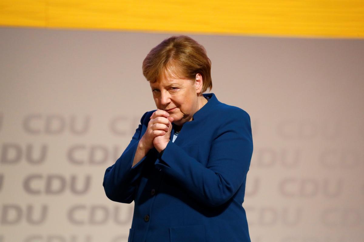 Меркель скоро оставит роль канцлера и бесспорного лидера Европы / REUTERS