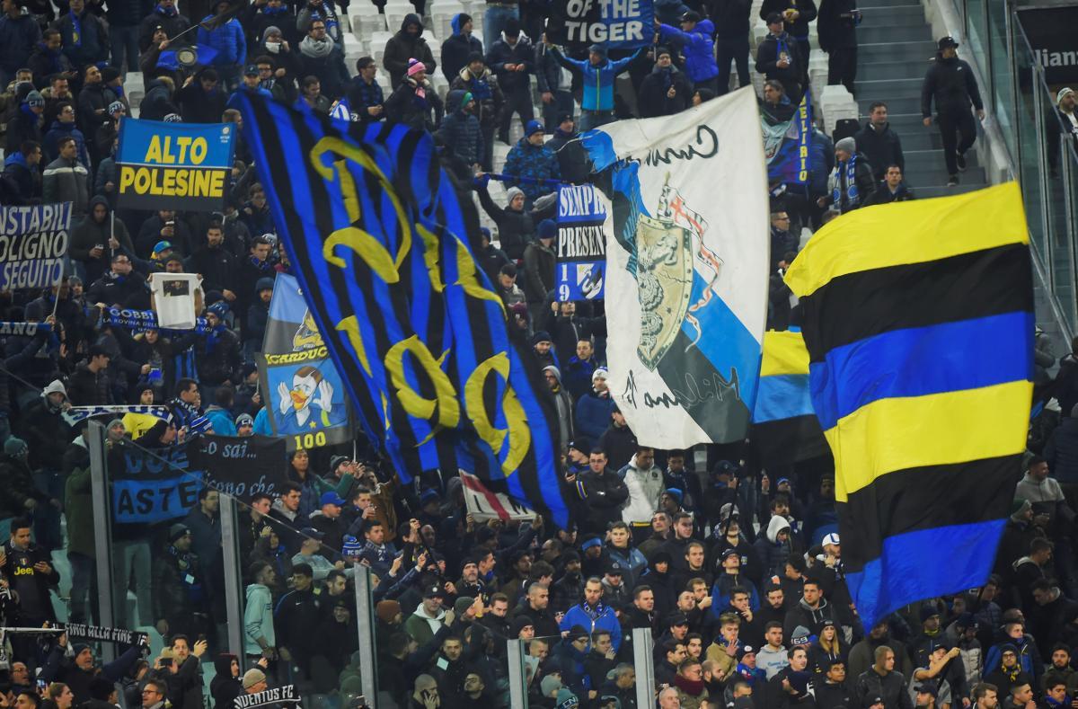 Болельщики Интера набедокурили на стадионе в Турине / Reuters