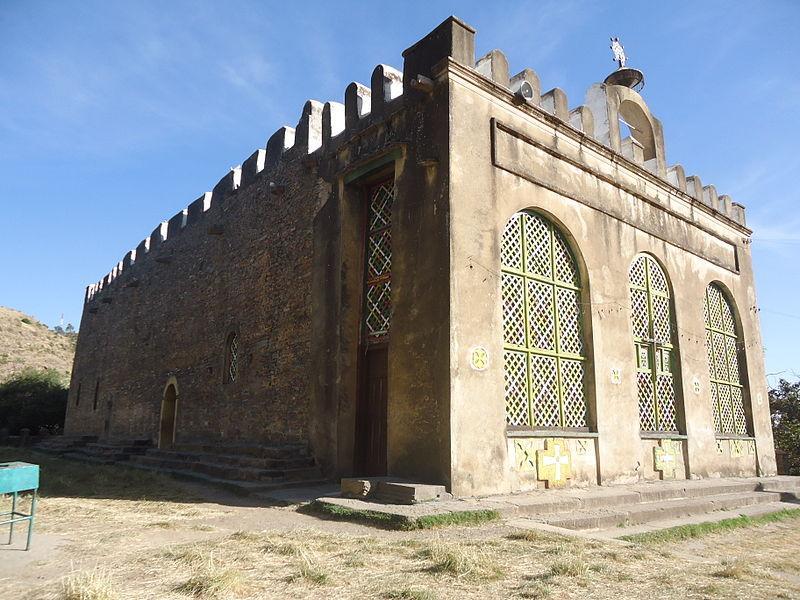 Церковь Марии Сионской в Аксуме / Wikipedia