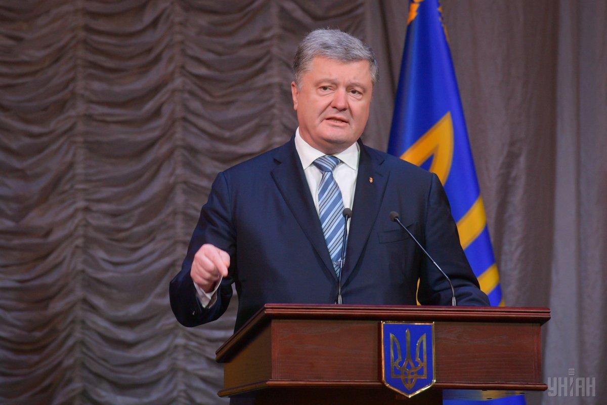 Порошенко отметил, что сейчас нет избирательной кампании / фото УНИАН