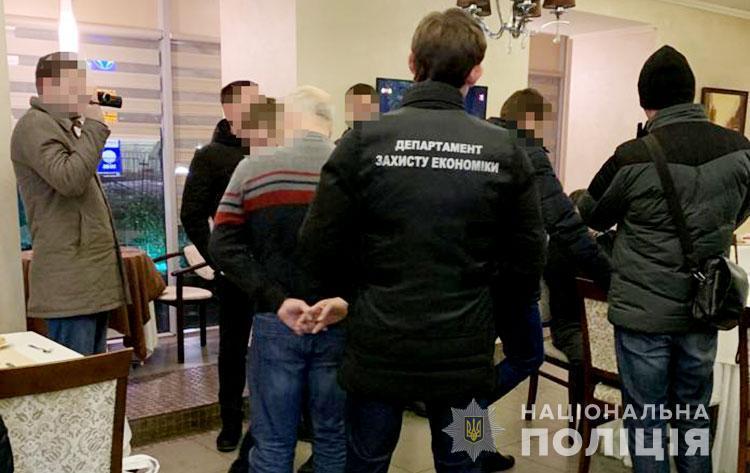 В Днепре задержали мошенников / фото Нацполиция
