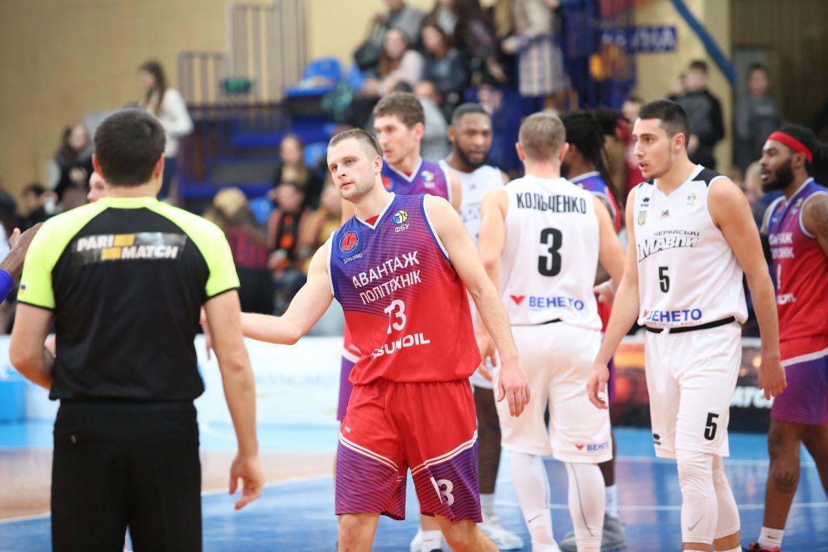Политехник обыграл Мавпв матче регулярного чемпионата баскетбольной Суперлиги / fbu.ua