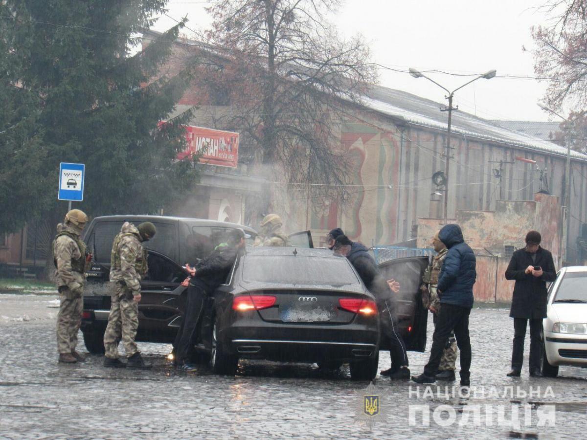 Спецоперацию провели в течение субботы, 8 декабря в Мукачево / пресс-служба полиции Закарпатской области