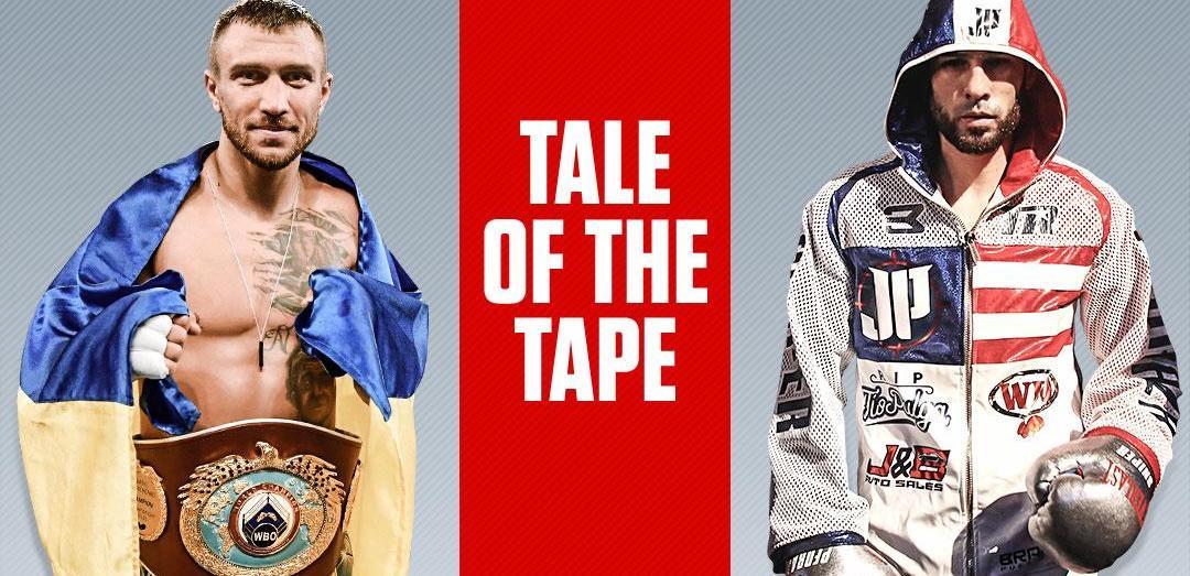 Василий Ломаченко и Хосе Педраса разыгрывали титулычемпиона мира по версиям WBO, WBA и The Ring / ESPN