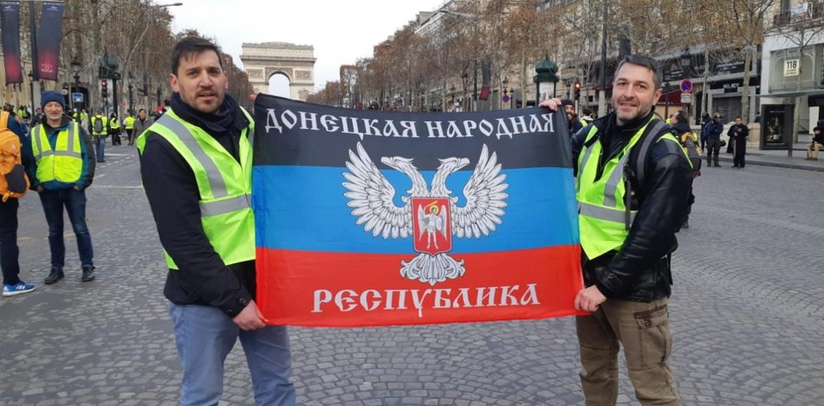 Fabrice Sorlin (left) and Xavier Moreau (right) / Photo from facebook/SecurSerUkraine