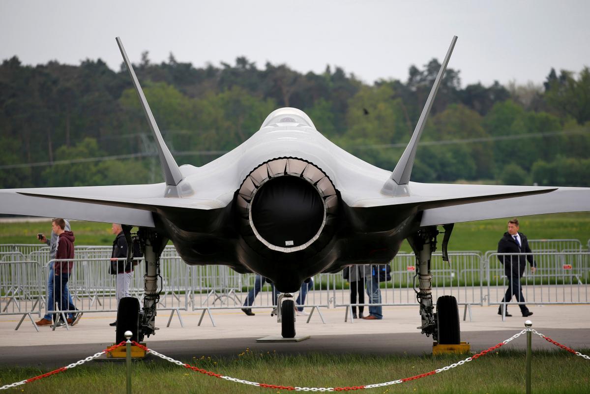Винищувач F-35 / REUTERS