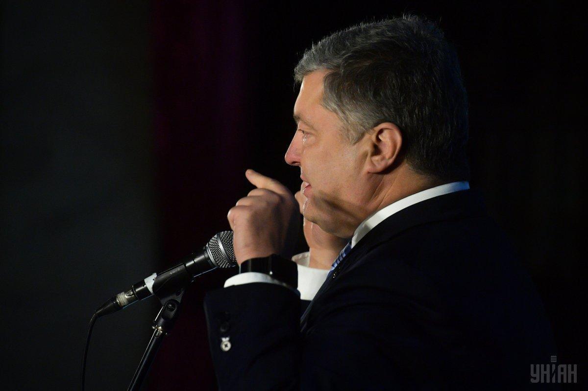 За словами президента, початок Собору відклали на більше трьох годин / фото УНІАН
