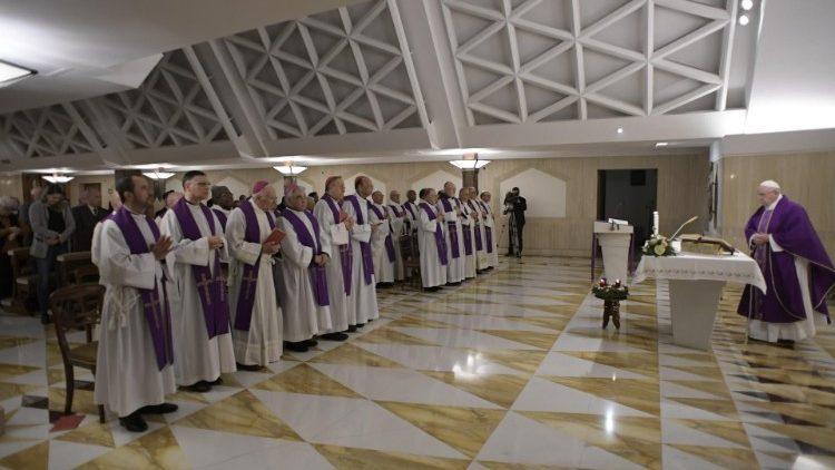 Утренняя Месса 10 декабря / vaticannews.va