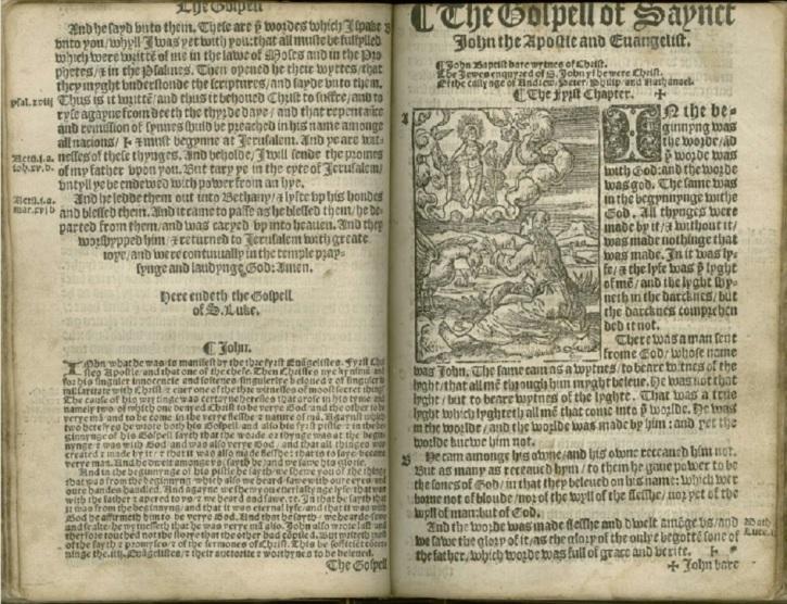 Біблія у перекладі Тіндейла / LIB.UMICH.EDU