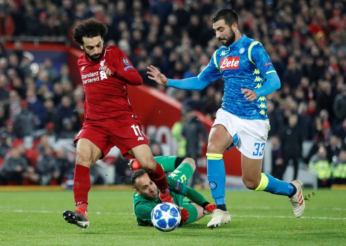 Саллах забив переможний гол у матчі Ліверпуля і Наполі в Лізі чемпіонів у вівторок / Reuters