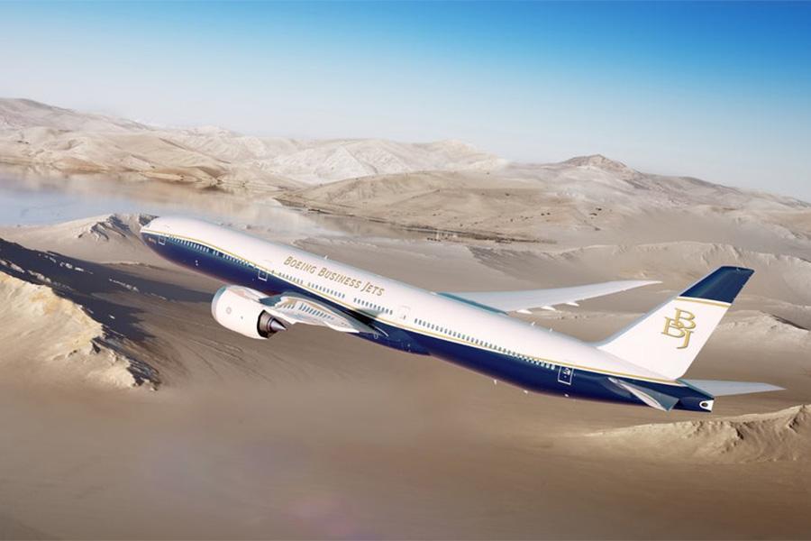 BBJ-777-9 зможе без посадки подолати відстань у 20 370 км / фото boeing.mediaroom.com