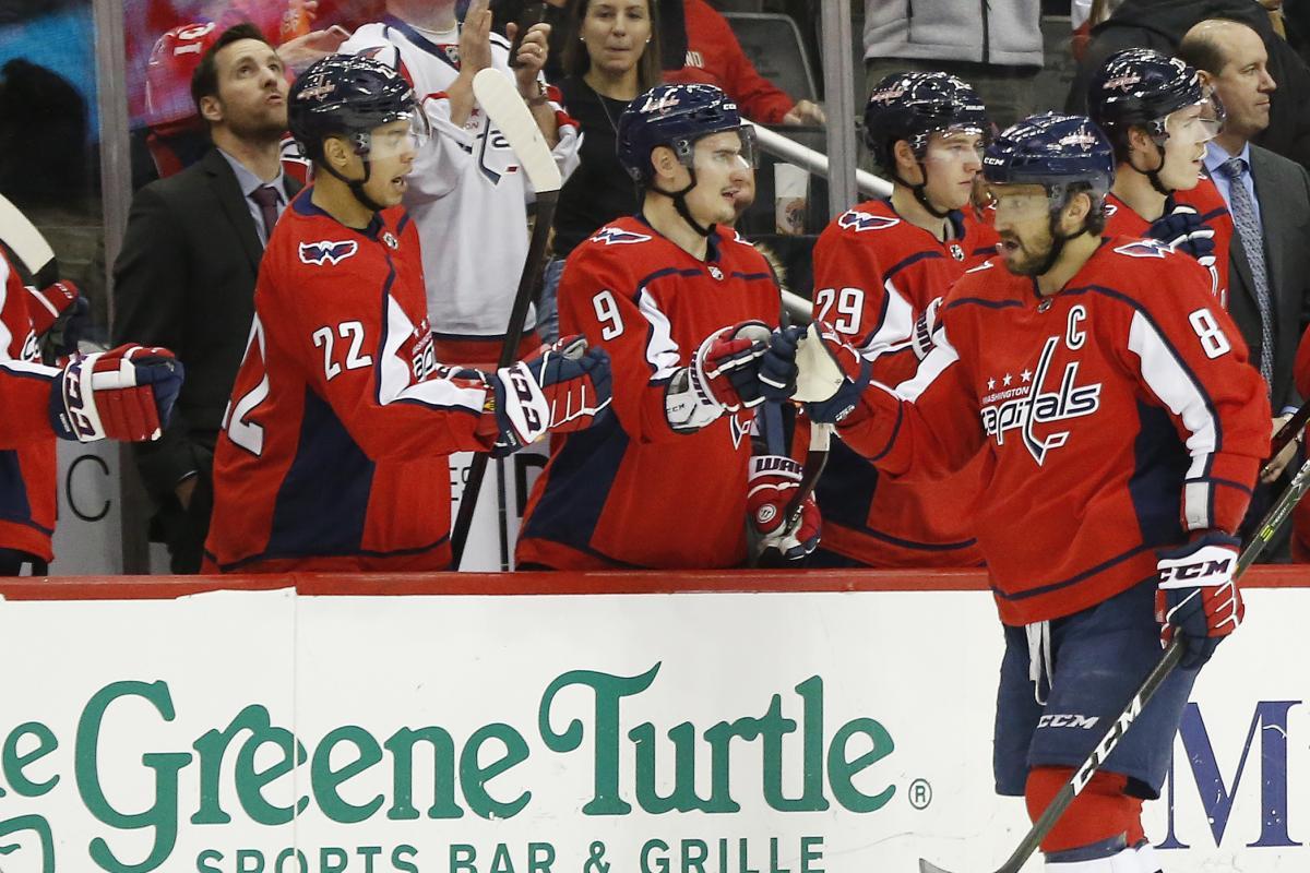 Овечкін зробив черговий хет-три і став кращим гравцем дня в НХЛ / Reuters
