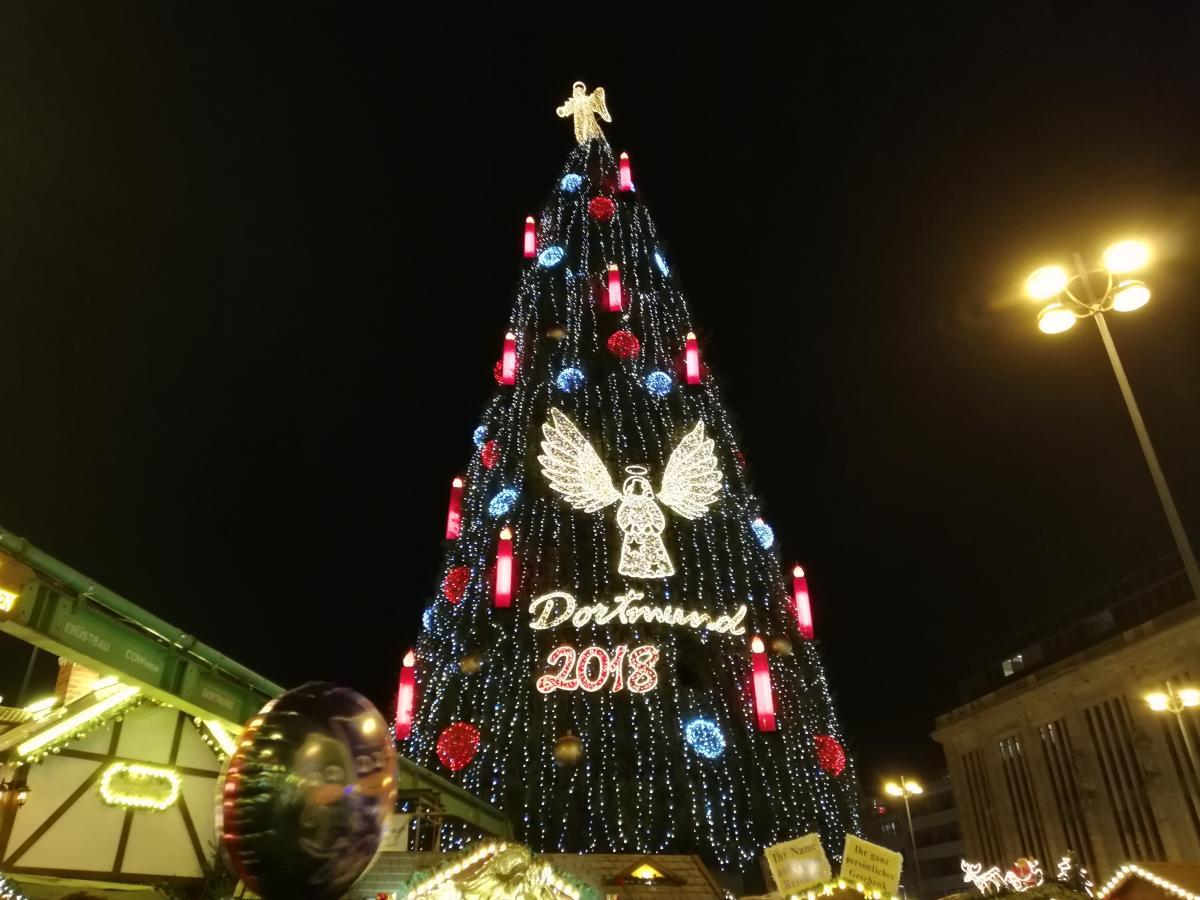 Самая большая новогодняя елка в мире 2018 (Дортмунд) / Фото Марина Григоренко