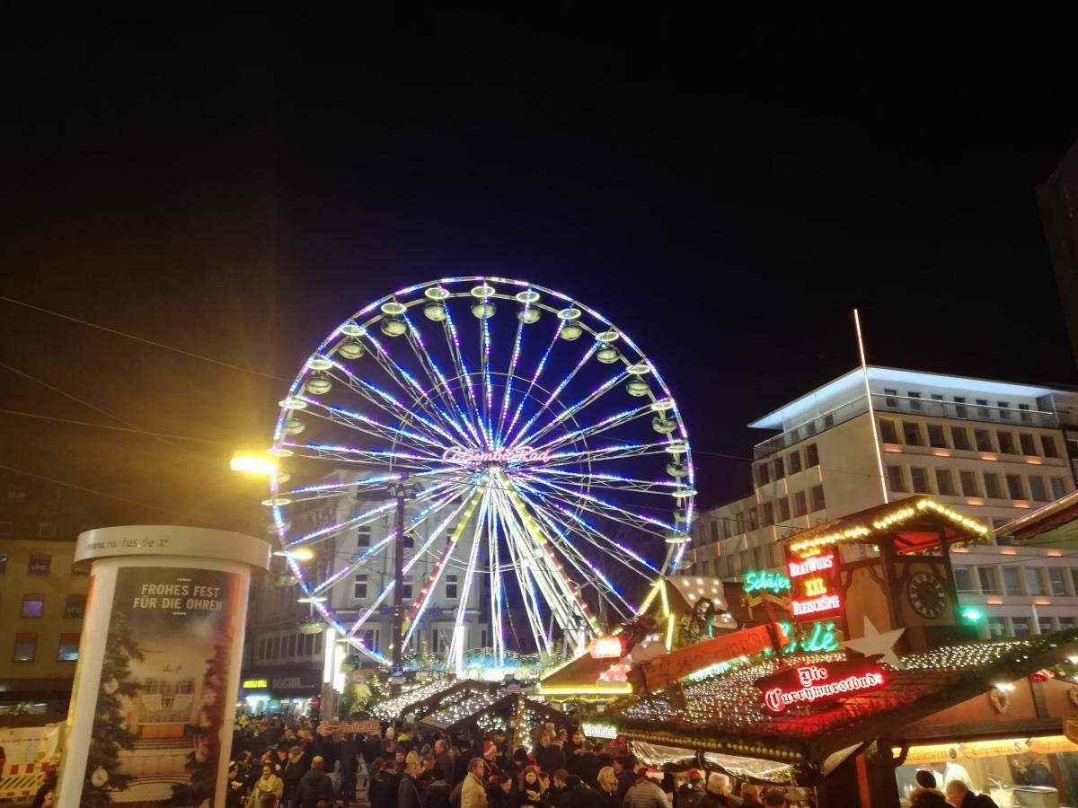 Еда и развлечения на ярмарках в Германии на любой вкус (Дортмунд) / Фото Марина Григоренко