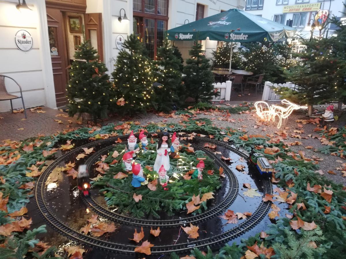 В декабре в Германии царит настоящая сказка (Бохум) / Фото Марина Григоренко