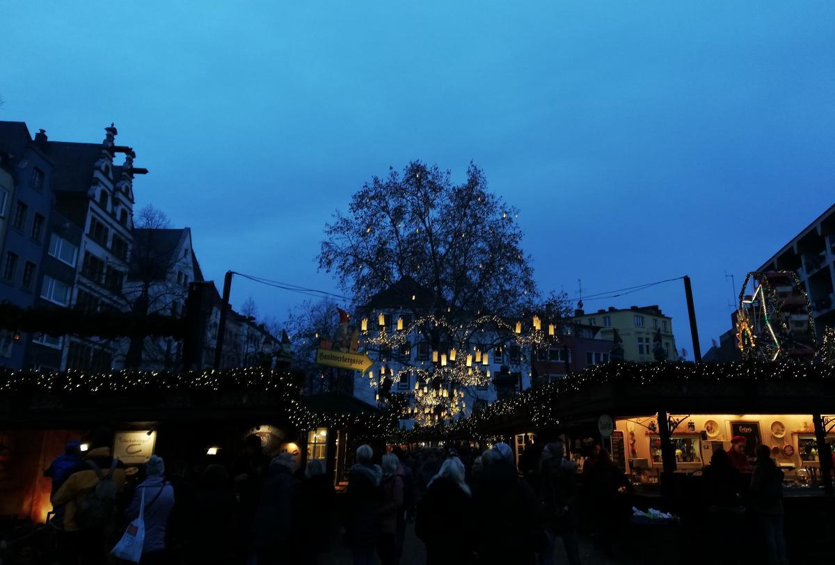Праздничная атмосфера в Кельне / Фото Марина Григоренко