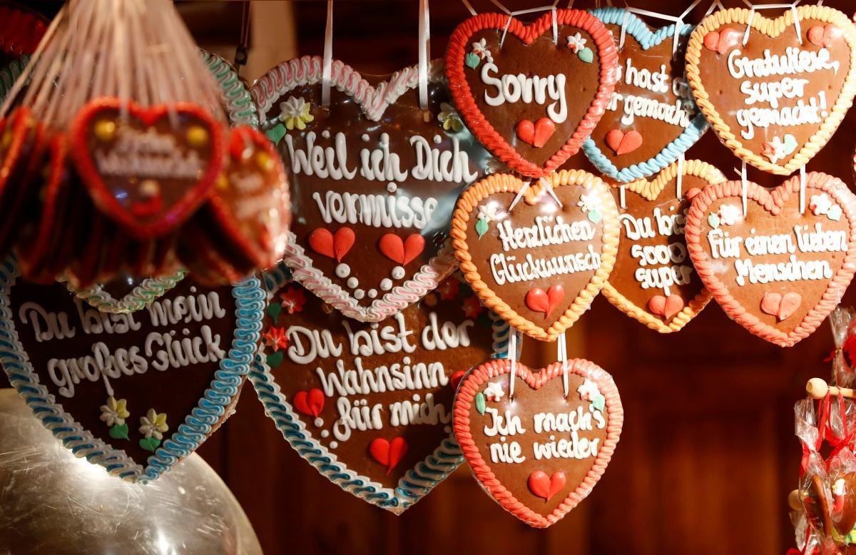 Ни одна немецкая ярмарка не обходится без пряничков / Фото REUTERS