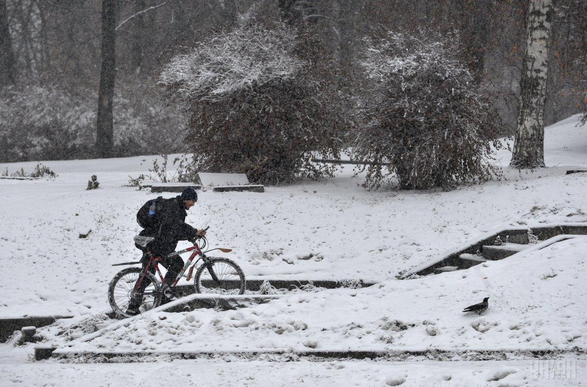 В Киеве завтра пройдет снег / УНИАН