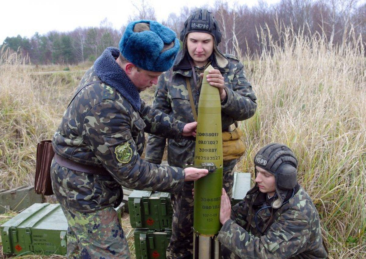 """""""Цветник"""" пока не на вооружении ВСУ, но им уже интересуются иностранцы / фото УНИАН"""