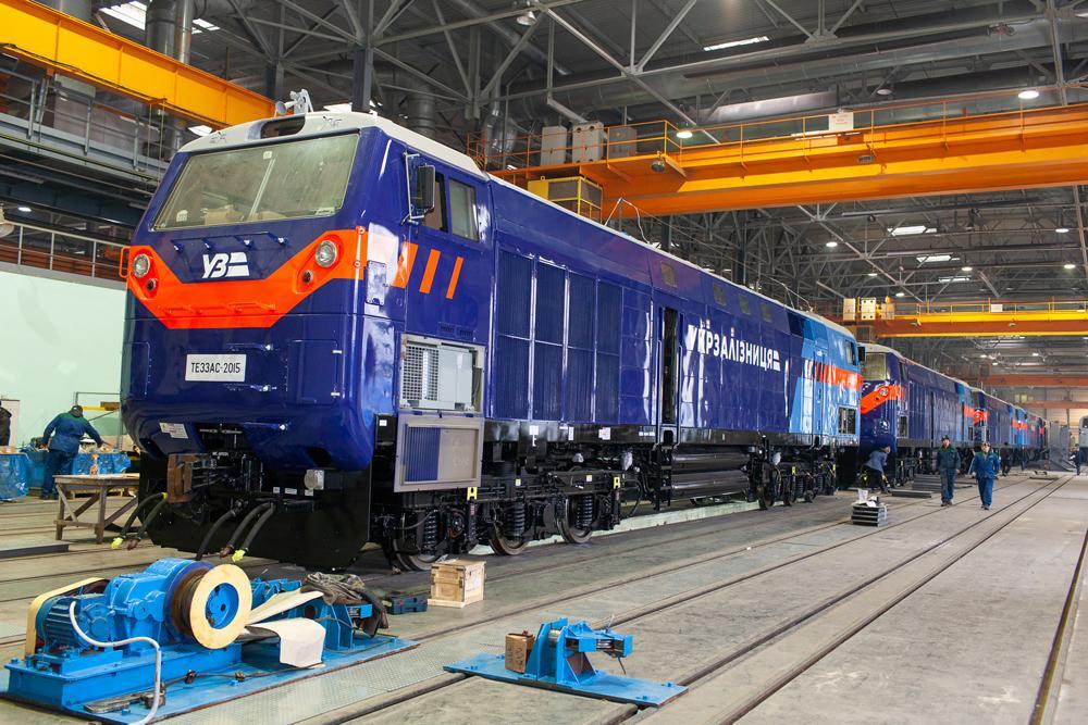 УЗ сегодня ввела в эксплуатацию первый тепловоз General Electric / фото kvsz.com