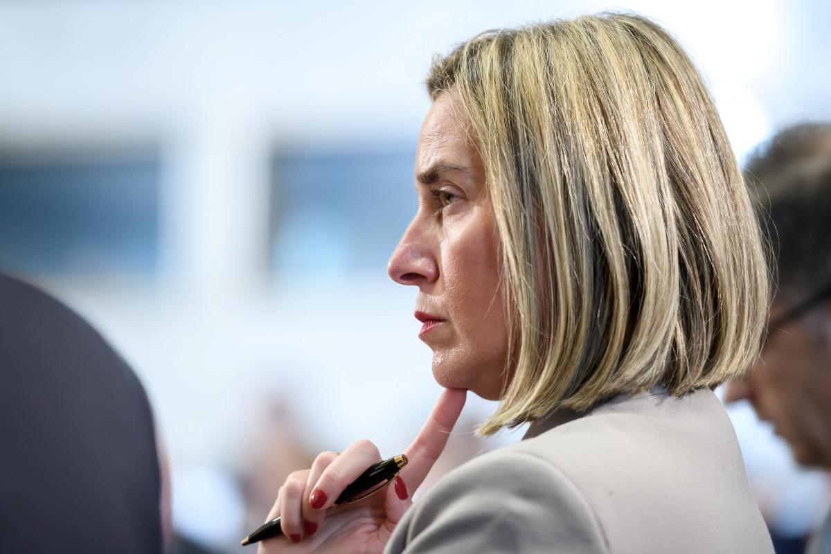 Федеріка Могеріні / фото REUTERS