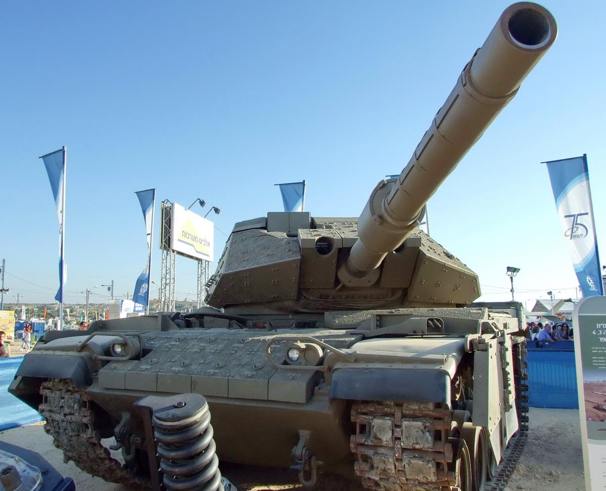 Украинские системы защиты планируют использовать на боевых танках M60 / фото wikimedia.org