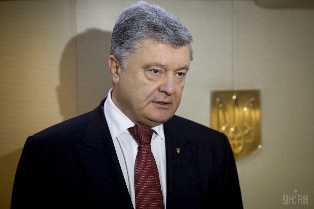 Порошенко указал зарплату президента в размере 128,5 тыс. грн / фото УНИАН