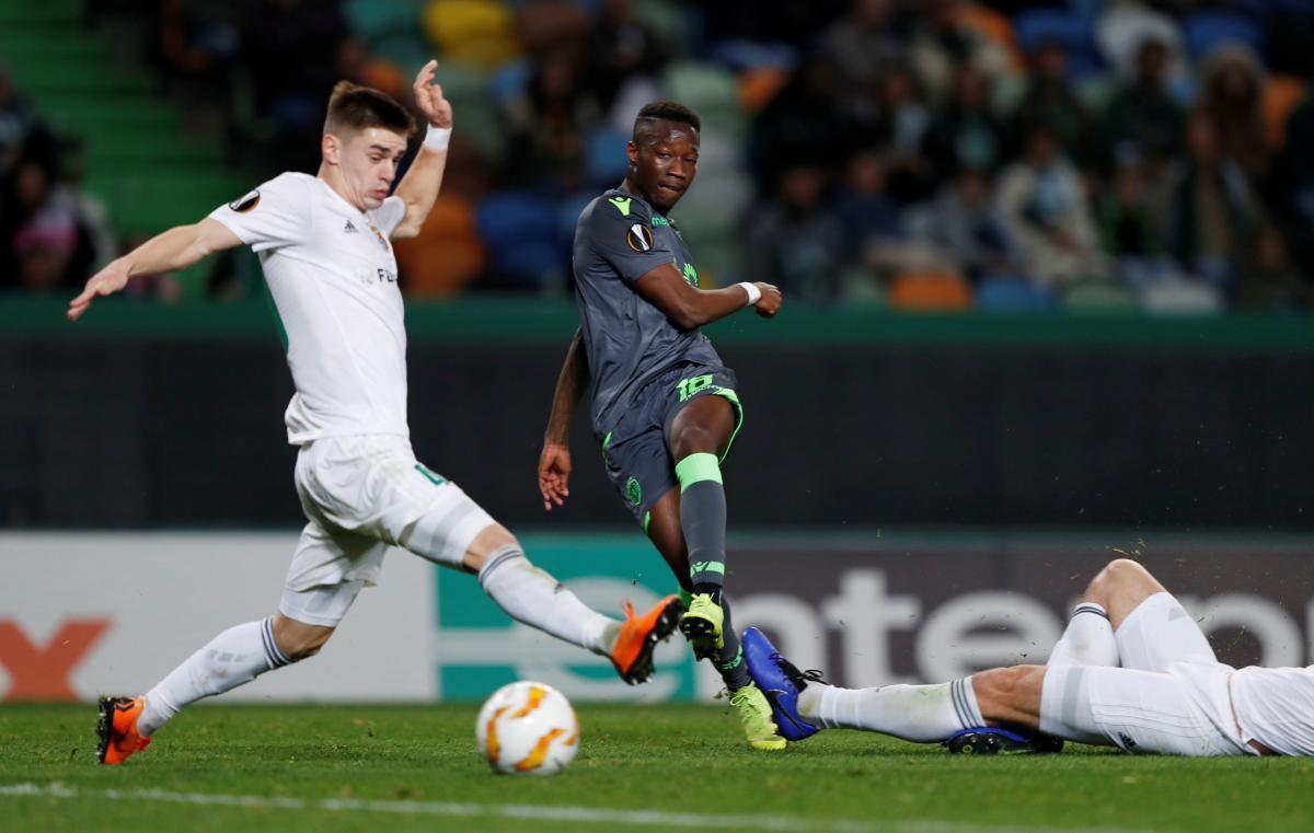 Спортинг забив у ворота Ворскли три м'ячі / Reuters