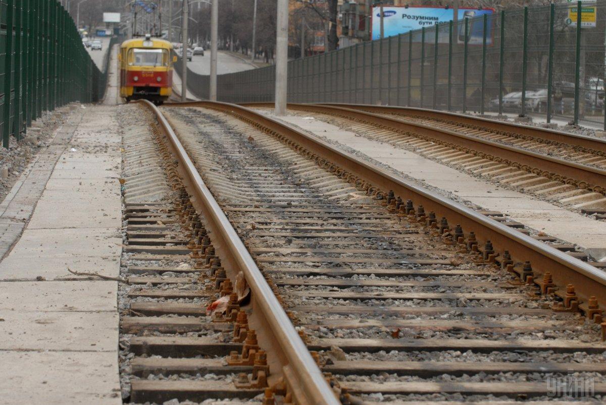 Столичні трамваї №14 та №15 працюватимуть за скороченим режимом чотири ночі поспіль / Фото УНІАН