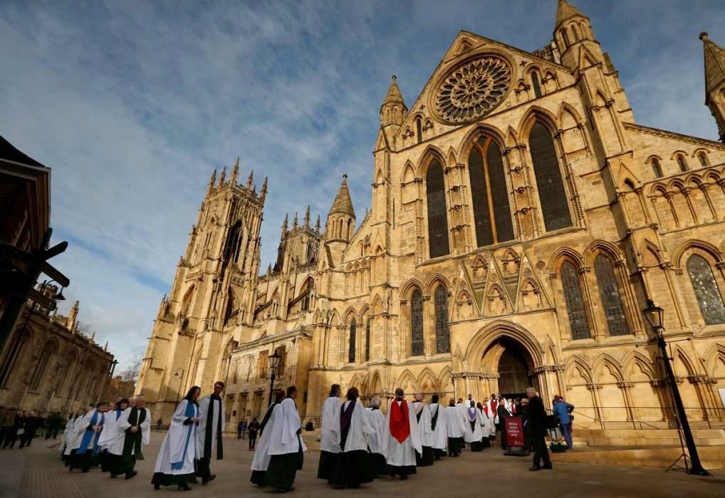 Йоркский собор / Nuntiare et Recreare
