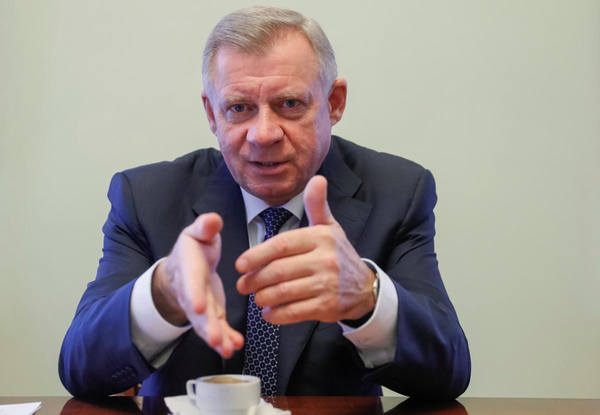 Глава Нацбанка Яков Смолий / REUTERS