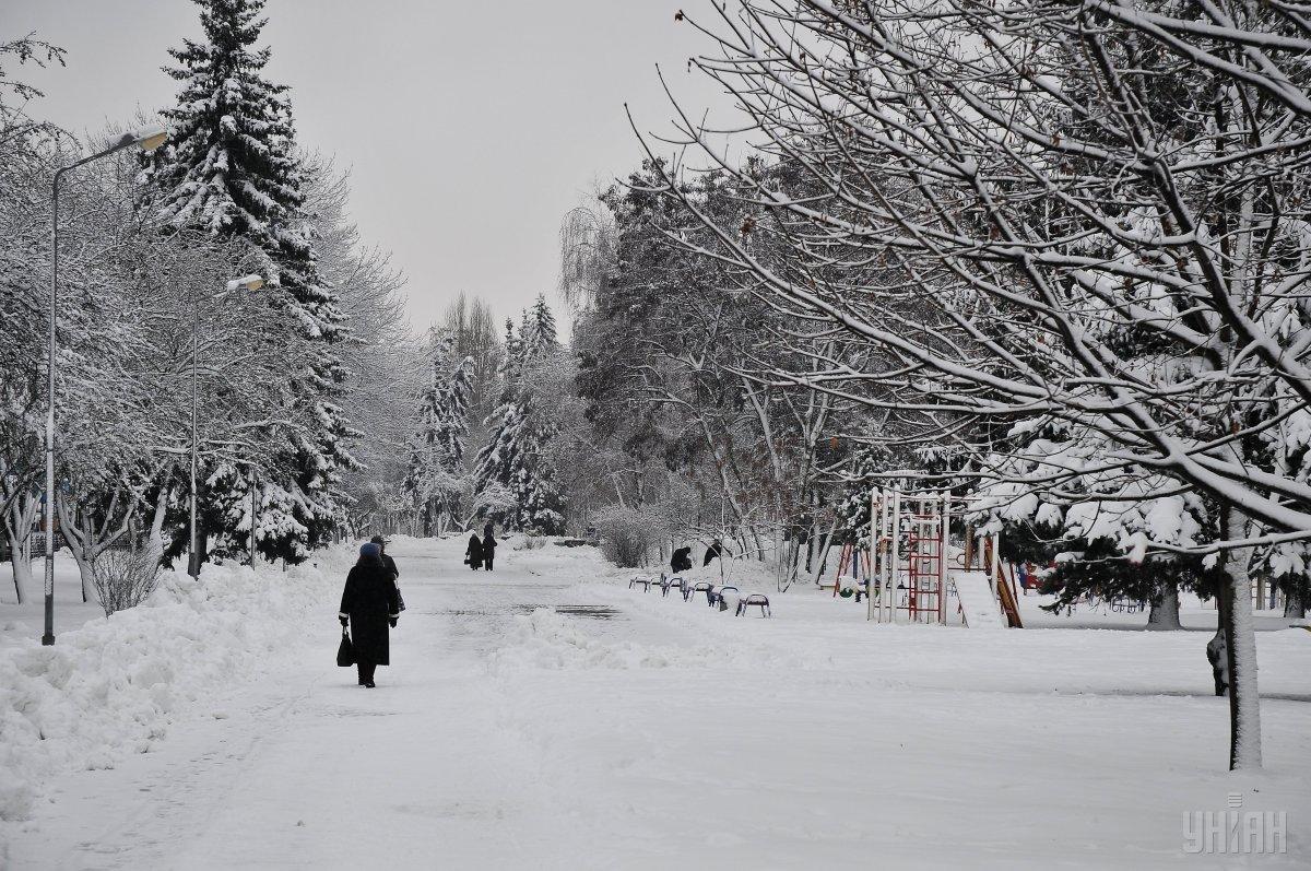 Холоднее всего сегодня будет в северных областях / УНИАН