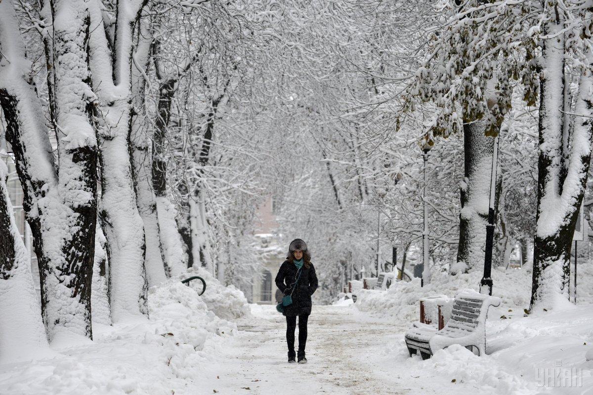 Завтра в Украине будет холодно / УНИАН