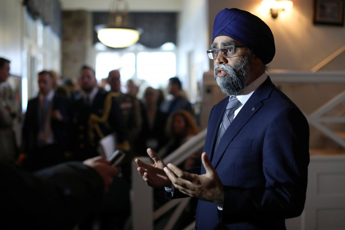 Canada's Minister of National Defence Harjit Singh Sajjan / REUTERS