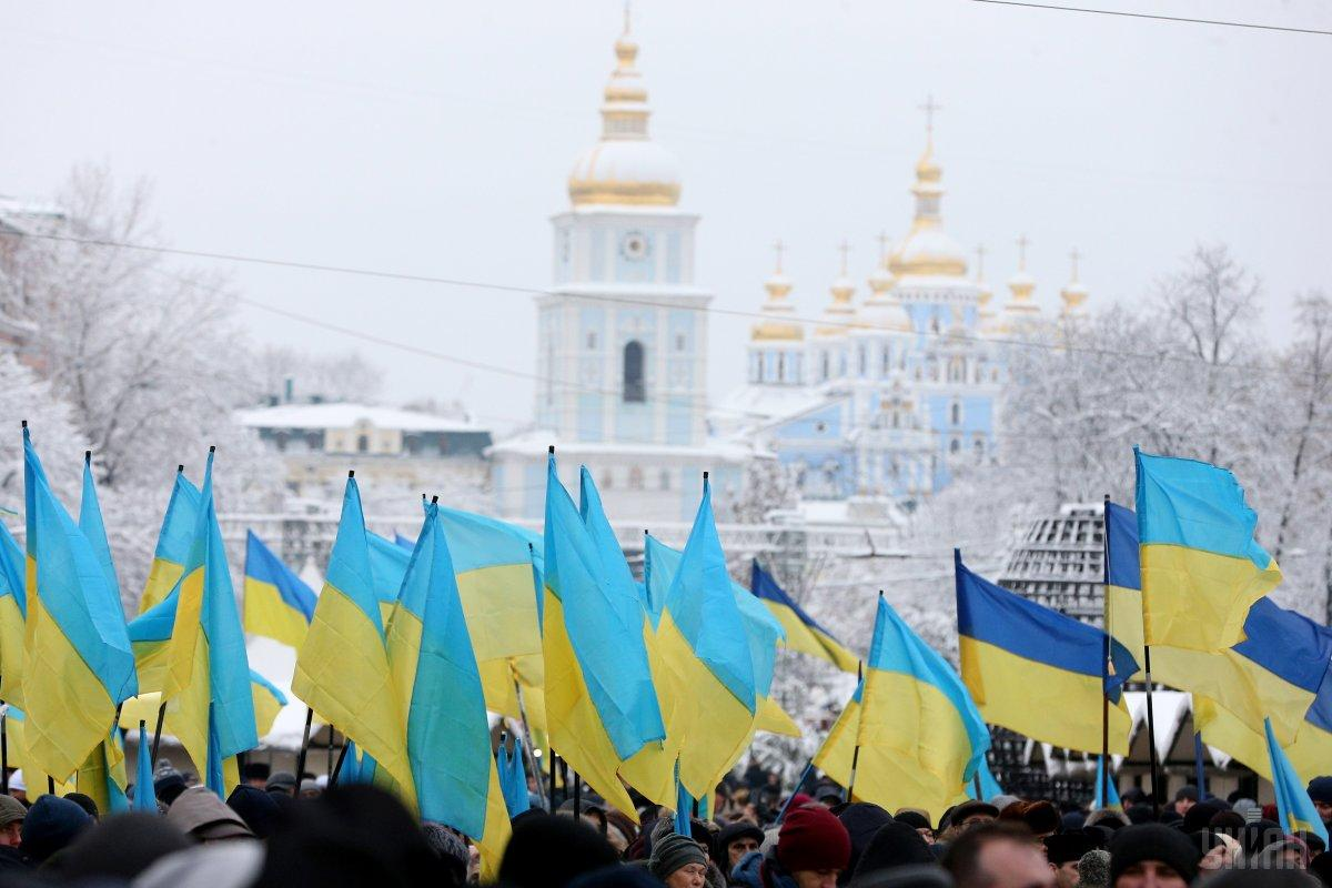 В Софии Киевской сегодня проходит объединительный собор / УНІАН