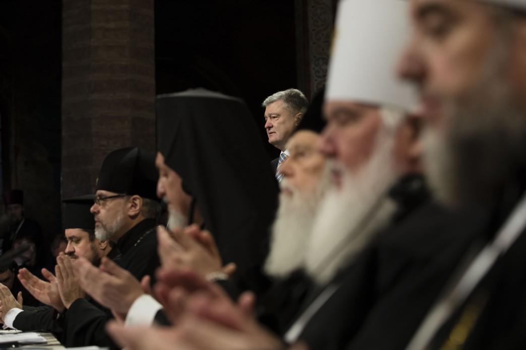 Порошенко выступил на Всеукраинском Православном Объединительном Соборе / фото president.gov.ua